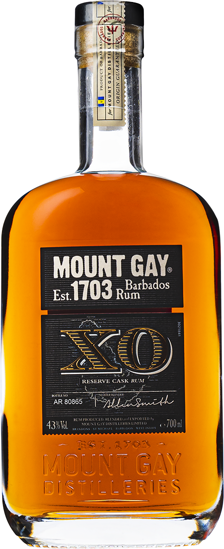mount gay xo flaska
