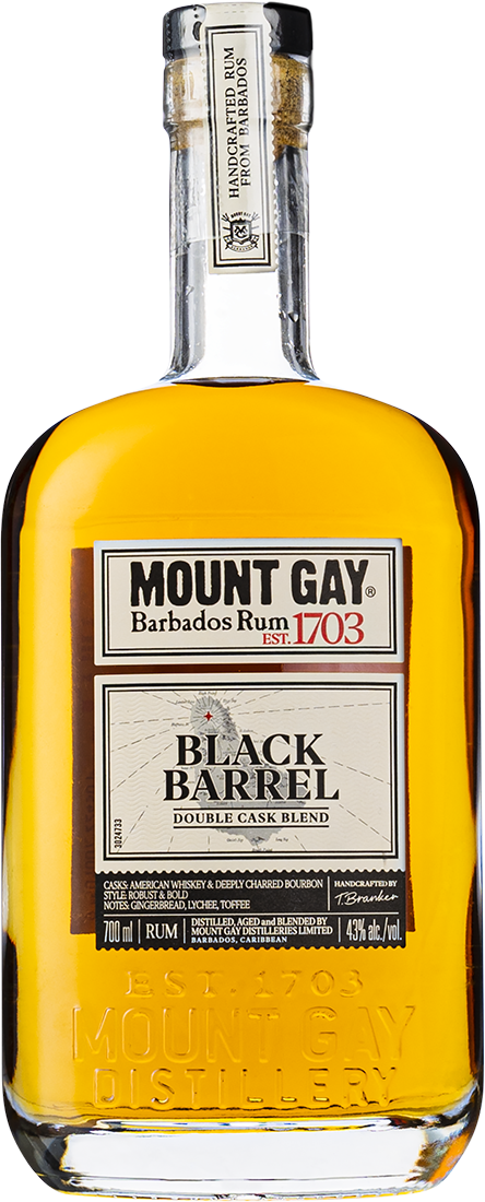 mount gay black barrel flaska rom