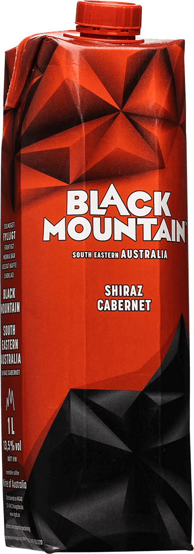 black mountain rött vin australien