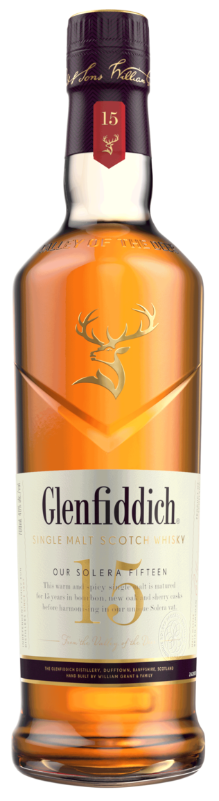 flaska Glenfiddich Solera 15