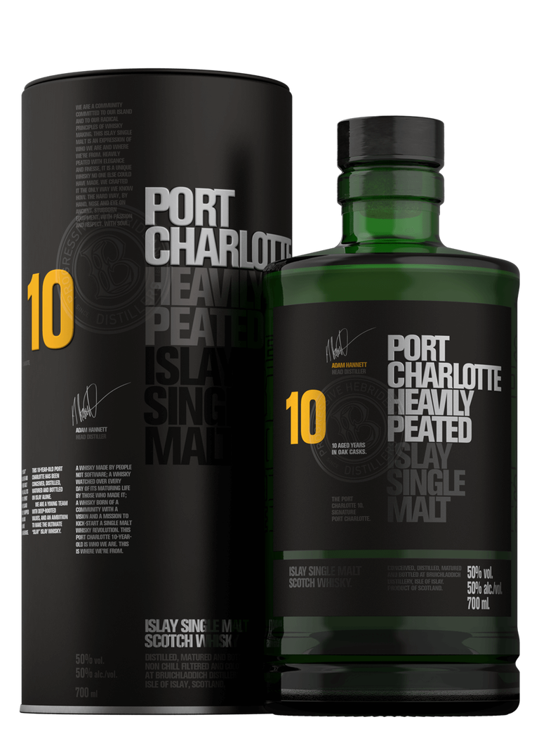 Port Charlotte Heavily Peated 10