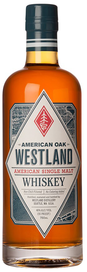 Westland Single Malt Whiskey American Oak