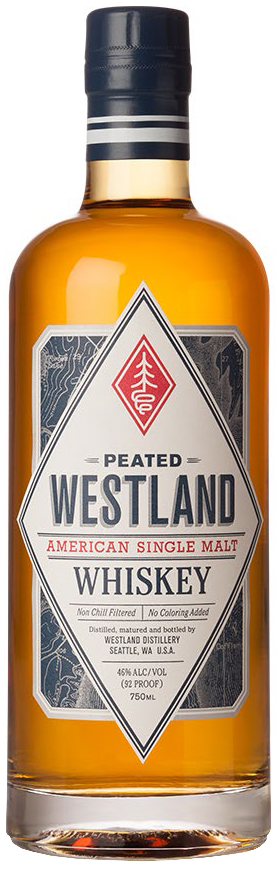 Westland Single Malt Whiskey Peated