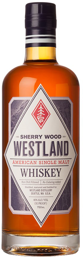 Westland Single Malt Whiskey Sherry Wood