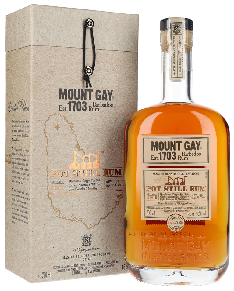 Mount Gay Pot Still Rum nigab
