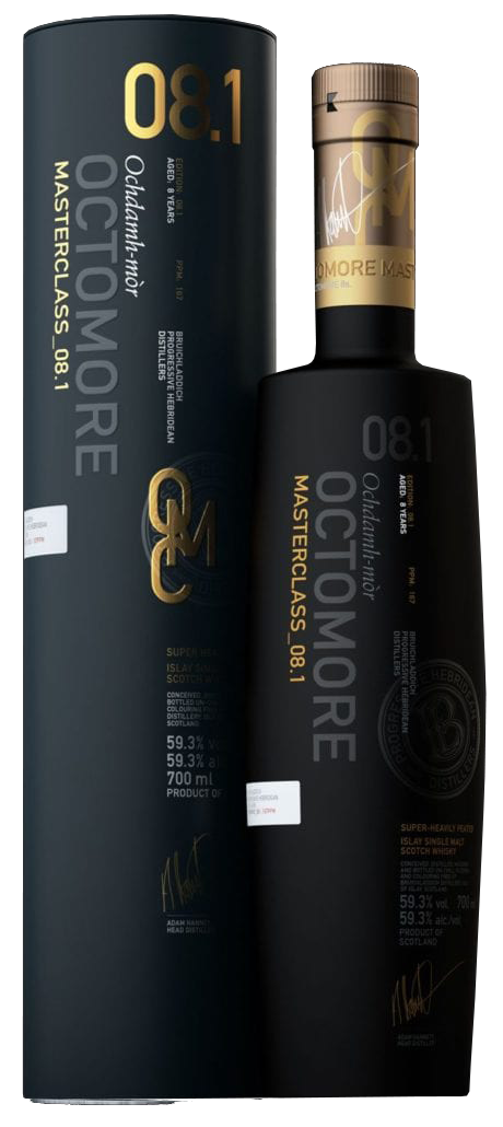 Octomore 8.1 Aged 8 Years