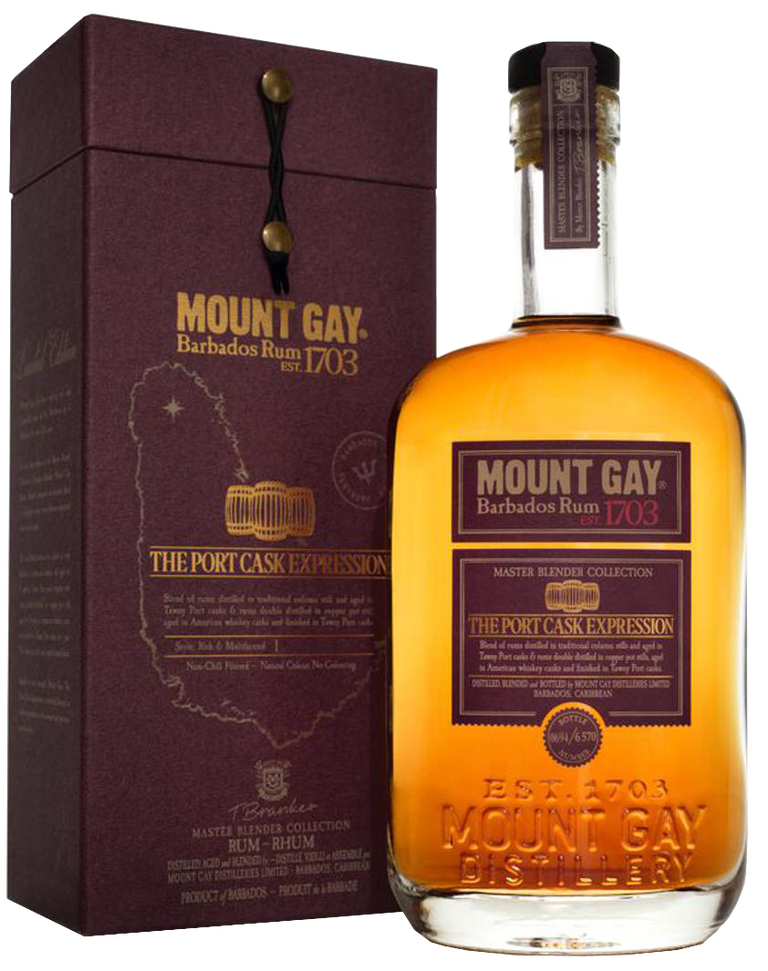 en flaska Mount Gay – The Port Cask Expression