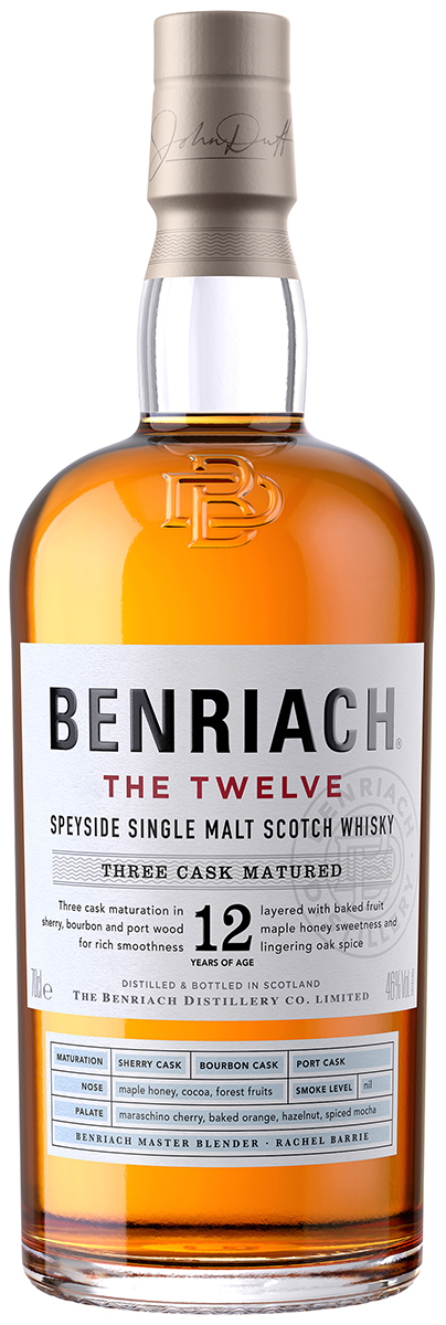 flaska whisky från Benriach the twelve