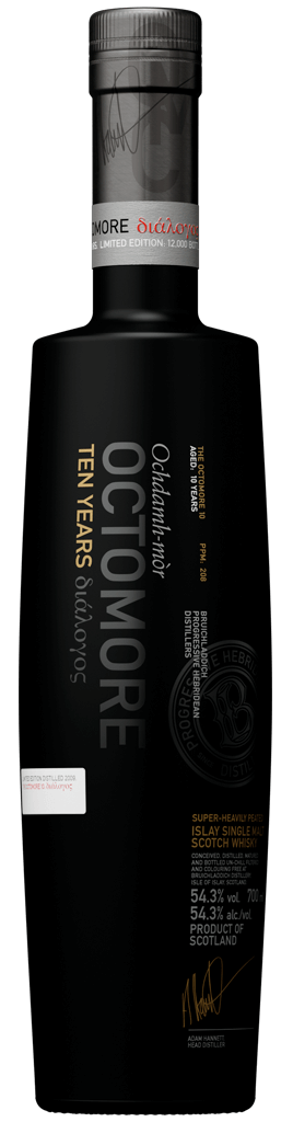 Octomore-ten-years flaska