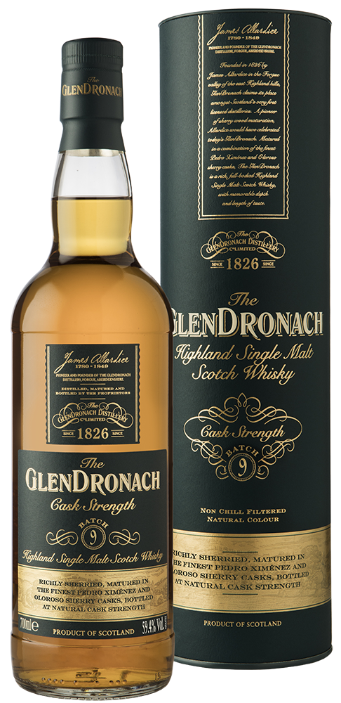 glendronach flaska cask strength