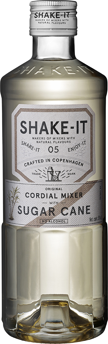 en flaska Shake-It Mixer Suger Cane